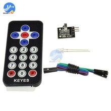 1 ensemble infrarouge IR télécommande sans fil Module émetteur récepteur kit de bricolage HX1838 pour Arduino Raspberry Pi