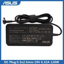 Asus адаптер для ноутбука 19V 6.32A 120W 5,5x2,5 мм ADP 120RH B / PA 1121 28 переменного тока питания зарядное устройство для Asus ZX50JX FX50 A550J записная книжка Адаптеры для ноутбуков      АлиЭкспресс