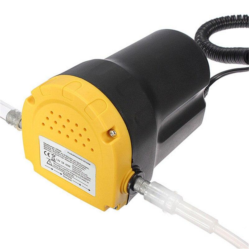 مضخة نقل الزيت الكهربائية, مضخة نقل الزيت الكهربائية DC12V 5A 60W عالية الجودة مضخة استخراج الزيت DC12V 5A 60W
