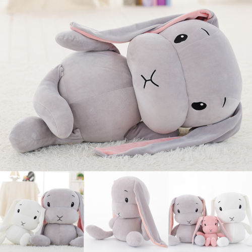 original feisty pets funny expression change face plush unicorn dog panada cat stuffed animals with keychain toys kids baby gift New Hot Cute Bunny Soft Plush Rabbit Toys Stuffed Baby Kids Children Gift Animals Doll 30cm Stuffed Animals Plush Animals