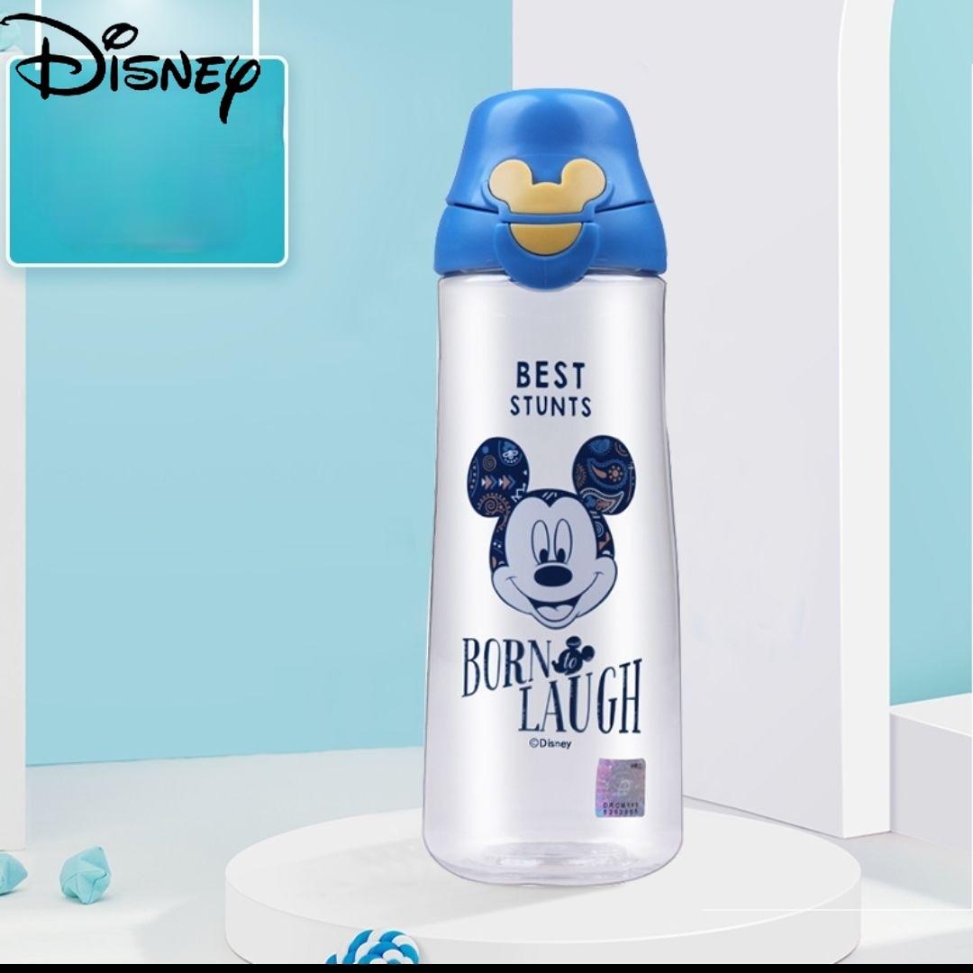 Disney Cartoon Children's Water Cup Portable Outdoor Girl Pot Drop-resistant Direct-drinking Children's Straw Cup Sports Bottle