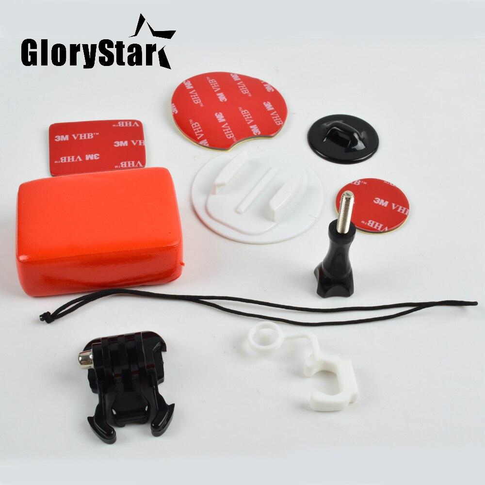 Аксессуары для камеры для Go Pro Surf Expansion Kit крепления для доски для серфинга + плавающий с клейкой наклейкой 3M для Gopro Hero YI SJ XIAOMI