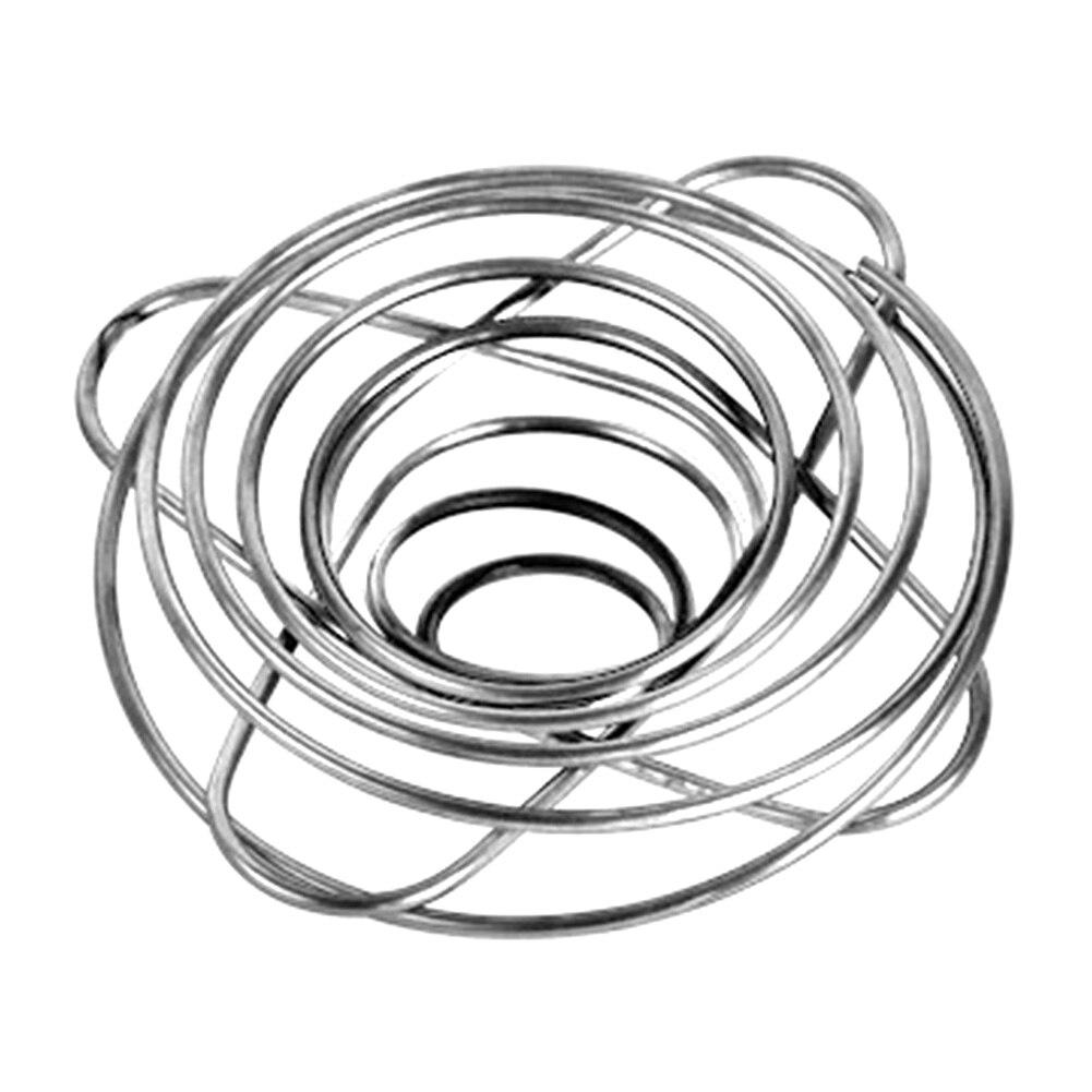 Lacier inoxydable pliable réutilisable de Camping de support de filtre de café universel de voyage de bureau versent au-dessus des tasses à la maison de goutteur de cône