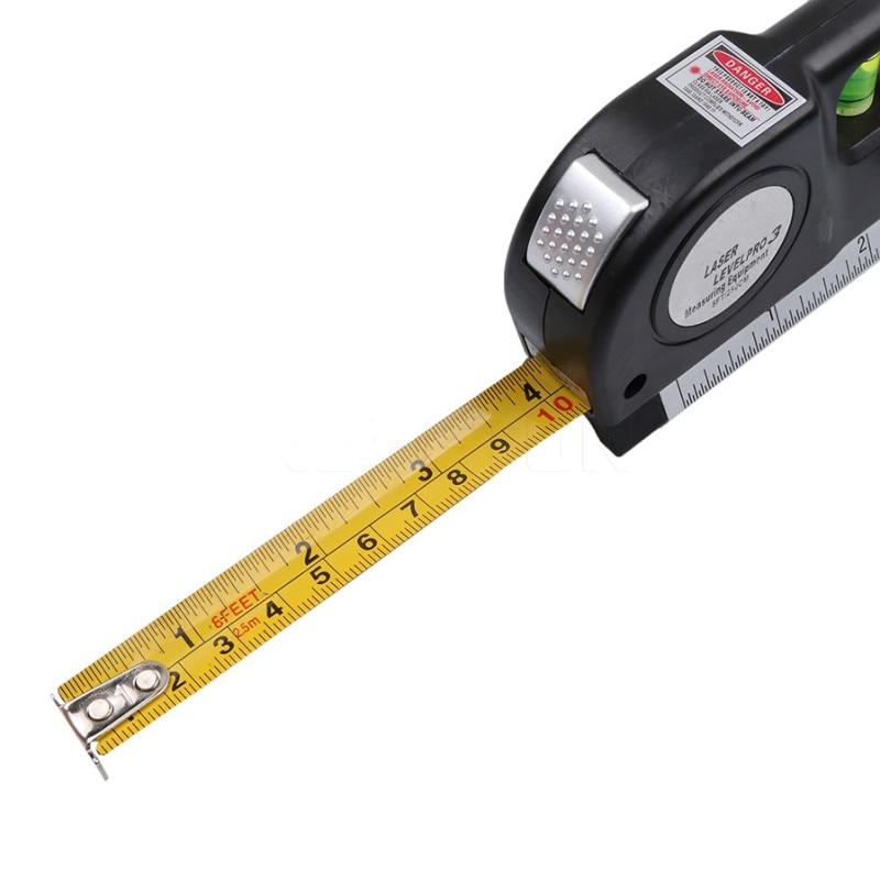 Nastro laser a linee incrociate a livello laser a infrarossi 4 in 1 - Strumenti di costruzione - Fotografia 4