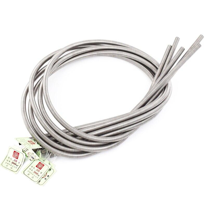5 unids/set 2500W-5000W Cable de resistencia 220V Cable de calentamiento eléctrico FeCrAl Cable de horno eléctrico suministros para la industria del hogar Cable de bobina