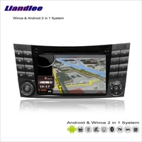 for mercedes benz cls class c219w211 2004 2010 car multimedia radio dvd player gps navigation android system