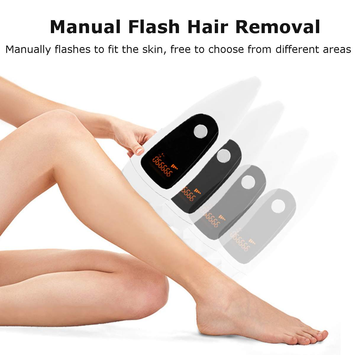 IPL Laser Hair Removal Machine Epilator 999999 Flashes Professional Permanent Removal Electric Photo Painless Bikini Trimmer enlarge