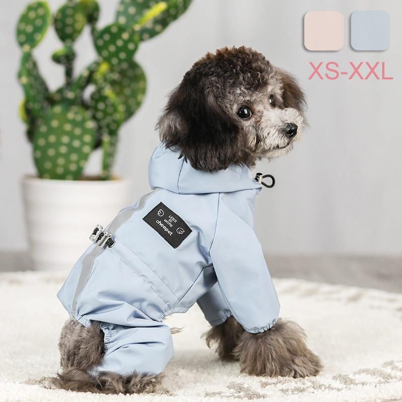 Chaqueta Impermeable para Perro, ropa reflectante, transpirable, absorbente de sudor, Abrigo para...