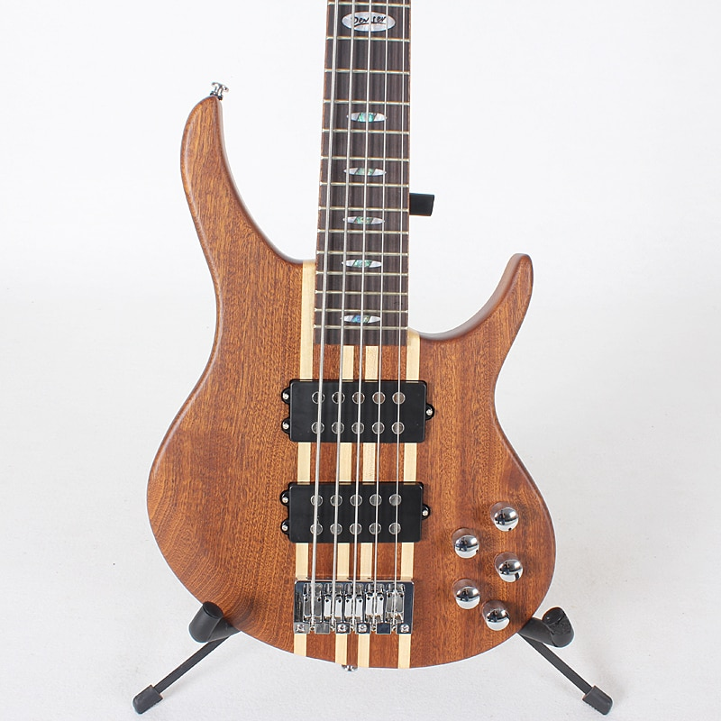 Free shipping of brand new 5 strings electric bass electric guitar neck through body enlarge
