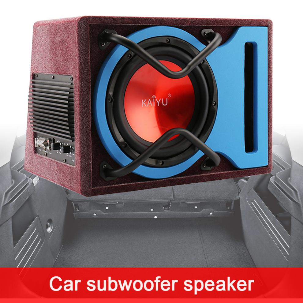 10 zoll 600W Universal Ultra Niedrigen Frequenz Lautsprecher Auto Aktiven Subwoofer Surround Stereo Lautsprecher