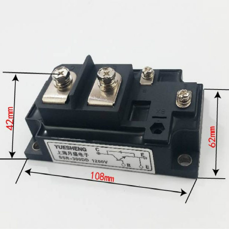alta potencia dc rele de estado solido 400a ssr 400dd
