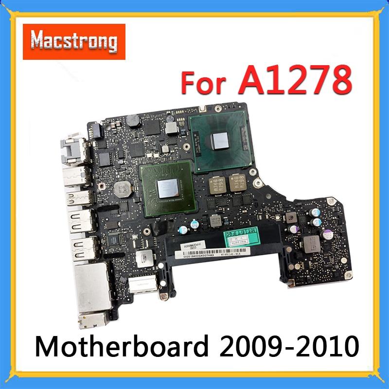 "Prueba A1278 placa base para Macbook Pro 13 ""2008"" 2009, 2010 Logic Board 2,26 GHz Intel Core 2 Duo 2,66 GHz 2,4 GHz 820-2530-A"