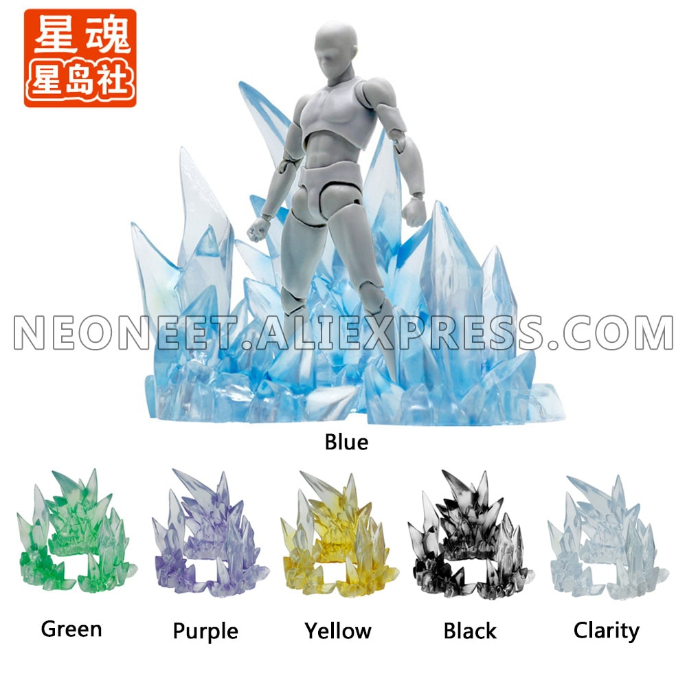 hot king of pop tamashii nations shfiguarts artist michael jackson smooth criminal shf action figure toys Tamashii Ice Rock Crystal EFFECT Model Kamen Rider SHF Action Figure Fire Scenes Toys Special Effect Action Toys Accessories