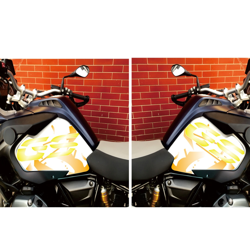 new motorcycle fuel tank side box protection sticker anti scratch decorative decal for bmw f850gs adv f 850 adv Motorcycle Fuel Tank Anti-Skid Protection Sticker For BMW R1200GS ADV 2013 2014 2015 2016