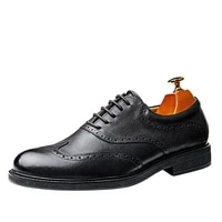 lace up business men shoes spring and autumn mens shoes casual high quality genuine leather shoes spring all match cowhide