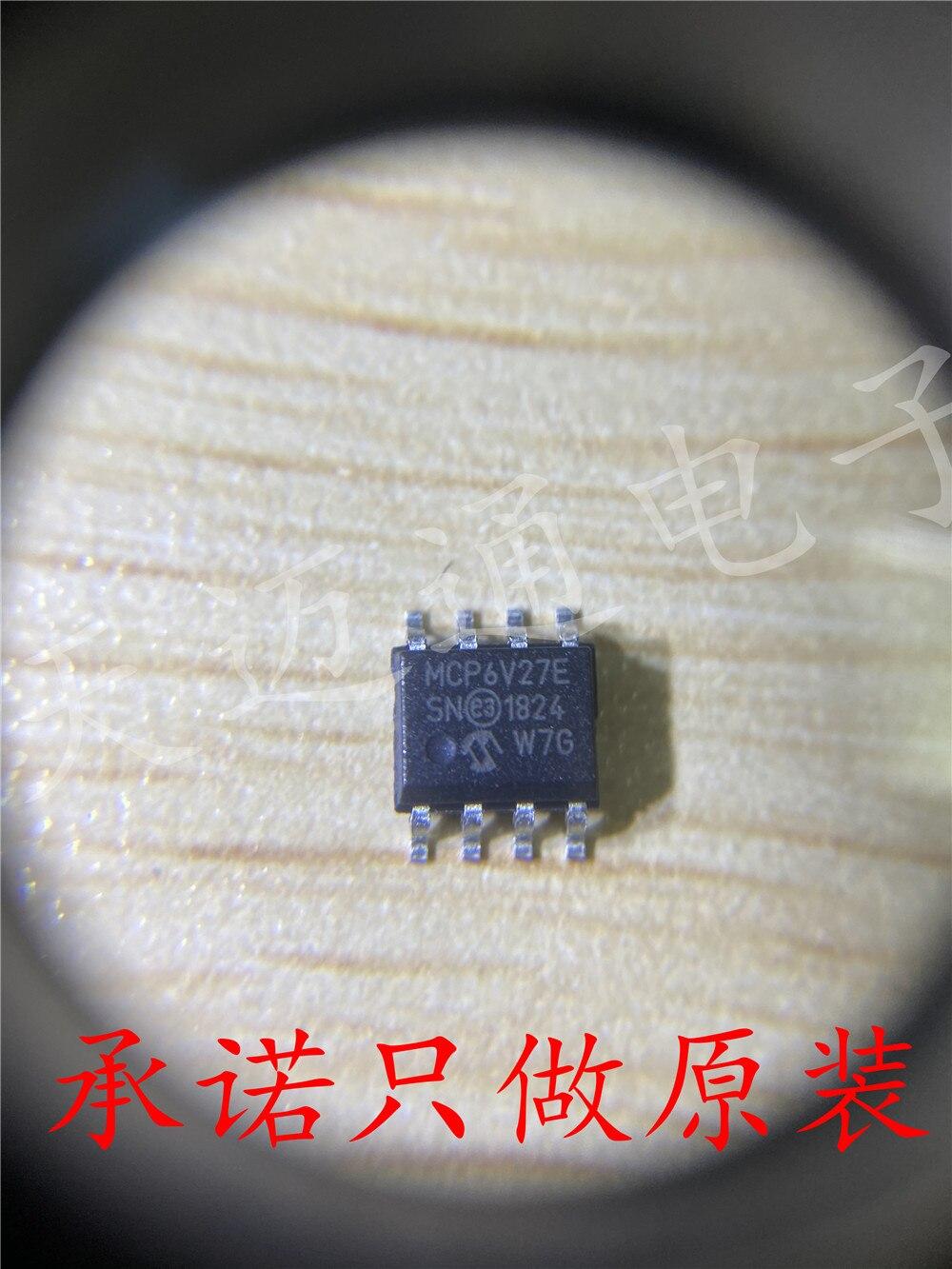 شحن مجاني MCP6V27-E/SN MCP6V27E SOP8 رقاقة BOM 10 قطعة