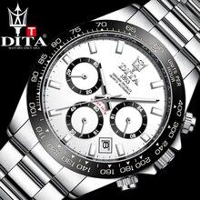DITA Top Brand Luxury Fashion Men Watches 30ATM Waterproof Date Clocks Quartz Watch Mens Automatic W