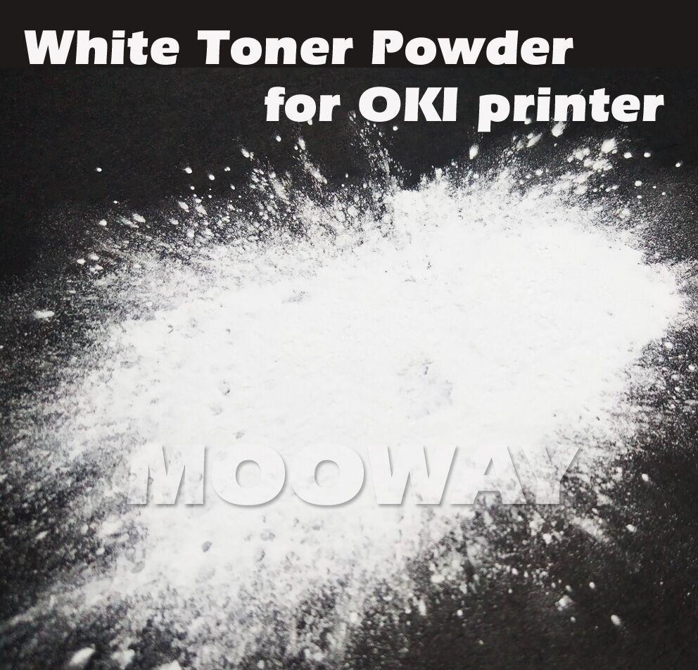 200g kompatybilny biały toner do OKI C710 C711WT C910 C911 C830 C831 C941 C920WT C921 ES7411wt ES9420wt biały toner