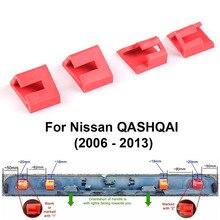 Clips de réparation de hayon   Poignée de botte, Clips conçus pour Nissan QASHQAI 2006 - 2013 4 pièces/ensemble