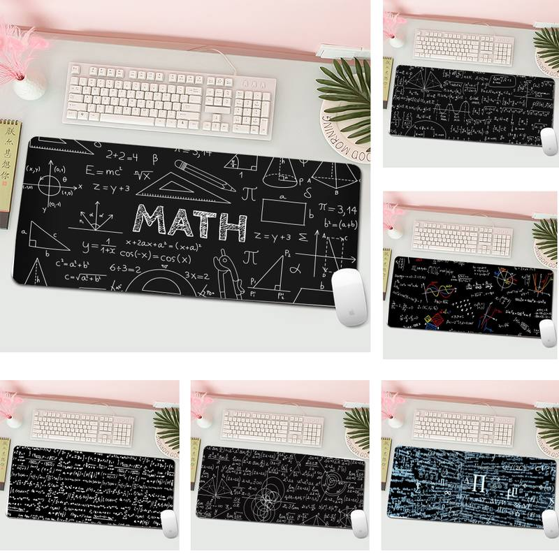 Geometric formula Silicone largesmall Pad to Mouse Gaming Mousepad XL Large Gamer Keyboard PC Desk Mat Computer Tablet Mouse Pad