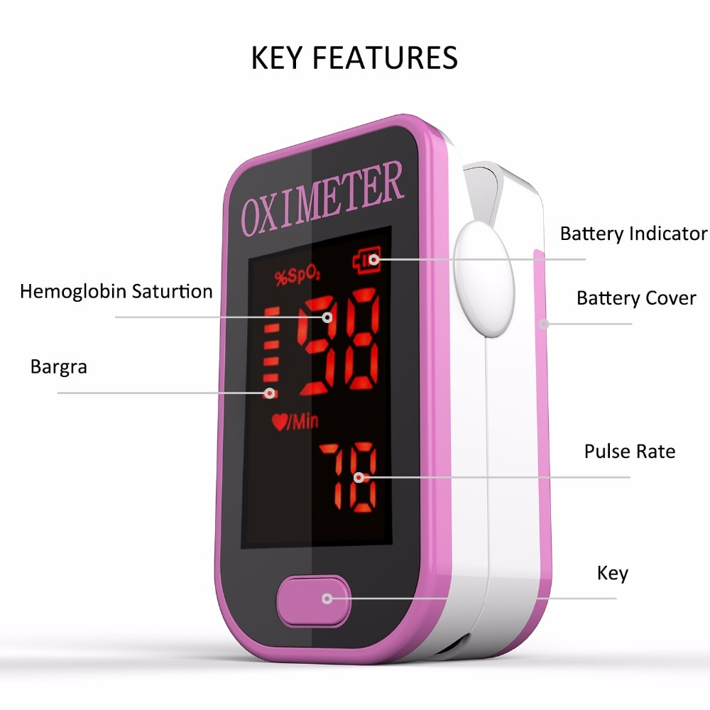 CE Finger Oximeter fingertip Pulsioximetro Heart Rate Saturometro Household Health Monitors Pulse Oxymeter finger pulse oximeter