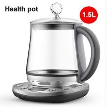 Bouilloire électrique multifonctionnelle de fleur de Pot de santé électrique dacier inoxydable de Kattle de 1.5L DEM-YS802 bouilloire deau bouillante