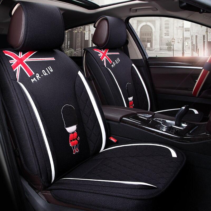 Cubierta de asiento de coche cubiertas de automóviles coches para Peugeot 106, 2008, 205, 206, 207, 208, 3008, 301, 306, 307 Uds 308, 2014, 2013, 2012