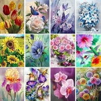 full mosaic pattern 5d diy diamond art painting home decoration flower diamond embroidery cross stitch new year gift