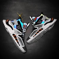 2021 reflective mens fashion sneakers breathable luxury designer shoes men high top sneakers high quality mens casual shoes