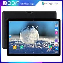 Neue Original 10 zoll Tablet Pc 3G Phone Call Quad Core Google Markt GPS WiFi FM Bluetooth 10,1 Tabletten 1G + 32G Android 7,0 tab