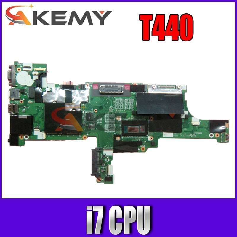 لينوفو ثينك باد T440 اللوحة الأم المحمول فيفl0 NM-A102 مع إنتل i7 وحدة المعالجة المركزية 100% اختبار كامل FRU 04X4024 04X4025 04X4039 04X404