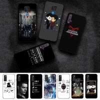 fhnblj tv series shadowhunters phone case for huawei nova 2 i plus 3i e 4 e 5i pro 6 se 5g 7pro se