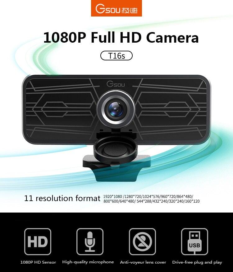 1080p autofocus webcam web camera  support  USB 2.0 PC Camera video Record call computer peripheral camera HD webcams desktop pc