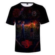 stranger things t shirt 3d print men t-shirt Joyce Byers Will Byers tshirt super hot tv tops cartoon graphic tops Quality tee