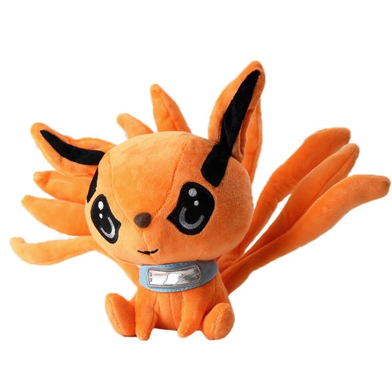 Naruto Shippuden Plüsch Spielzeug Kurama Kyuubi Neun Geschichten Fuchs Stofftiere Cartoon Weiche Angefüllte Puppe Flauschigen Geschenk Für Kinder