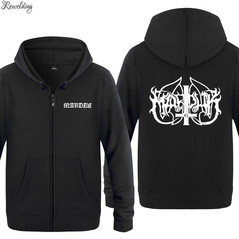 Cool Marduk Rock Music-sudaderas con capucha para hombre, moda, chaquetas de manga...