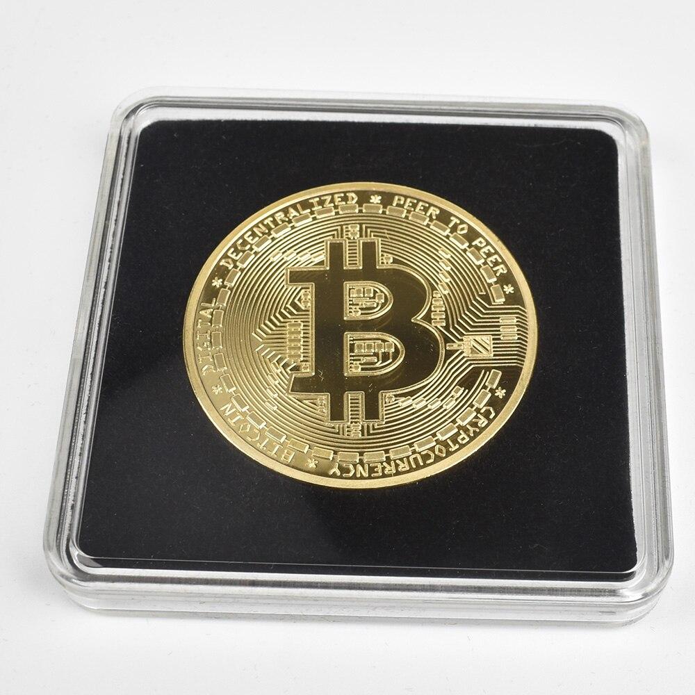 Gold Plated Physical  cryptocurrency coin BTC shiba bit coin Litecoin Ripple Eth collectible coin Cardano IOTA FIL doge Coin недорого