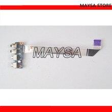 48.4YZ42.011 pour HP ProBook 450G1 450 G1 455 G1 prise Audio Port USB carte 12787-1 avec câble 100% test ok