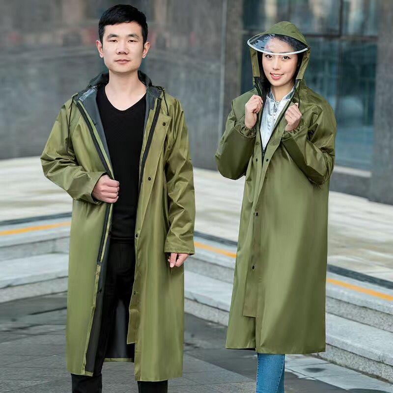 2020 Single Man Raincoats Transparent Waterproof Ladies Rain Coat Women Windproof  Impermeable Environmental Travel Rain Gear enlarge