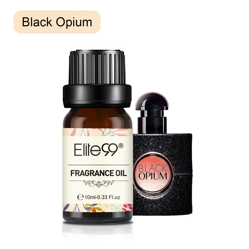 Elite99 Black Opium Fragrance Oil 10ML Flower Fruit Gardenia Essential Oil Relax Diffuser Lamp Air F