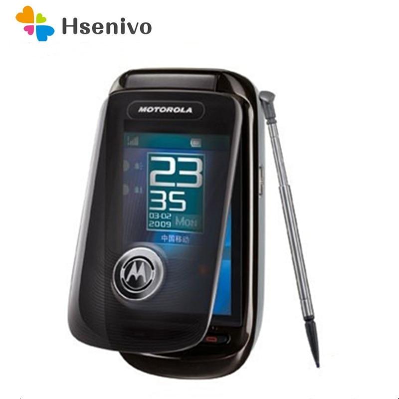 Motorola A1210 Refurbished-Original Unlocked A1210 2.8 inches 3.15 MP Radio Mobile Phone Free Shipping