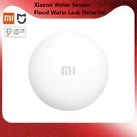 newest xiaomi water sensor flood water leak detector for home remote alarm security soaking sensor work with mijia app