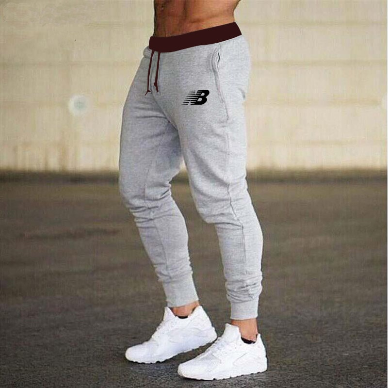 2021 NEW Men Casual Pants Long Trousers Tracksuit Gym Sport Workout Joggers Solid Pockets Sweatpants Plus Size S-3XL