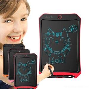 Цифровой планшет для рисования с ЖК-дисплеем 13 дюймов, портативная электронная доска для письма, ультратонкая доска с ручкой, подарки для детей