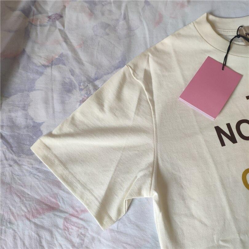 T-shirt 100% Cotton New Summer tee Letter Printing Leisure Fashion Classic Brand Luxury Design Versatile women men T-shirt G1