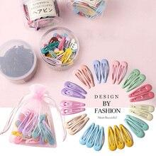 10/20/30/40PCS/Set Cute Colorful Waterdrop Hairpins For Women Girls Sweet Hair Clips Headband Barrettes Fashion Hair Accessories