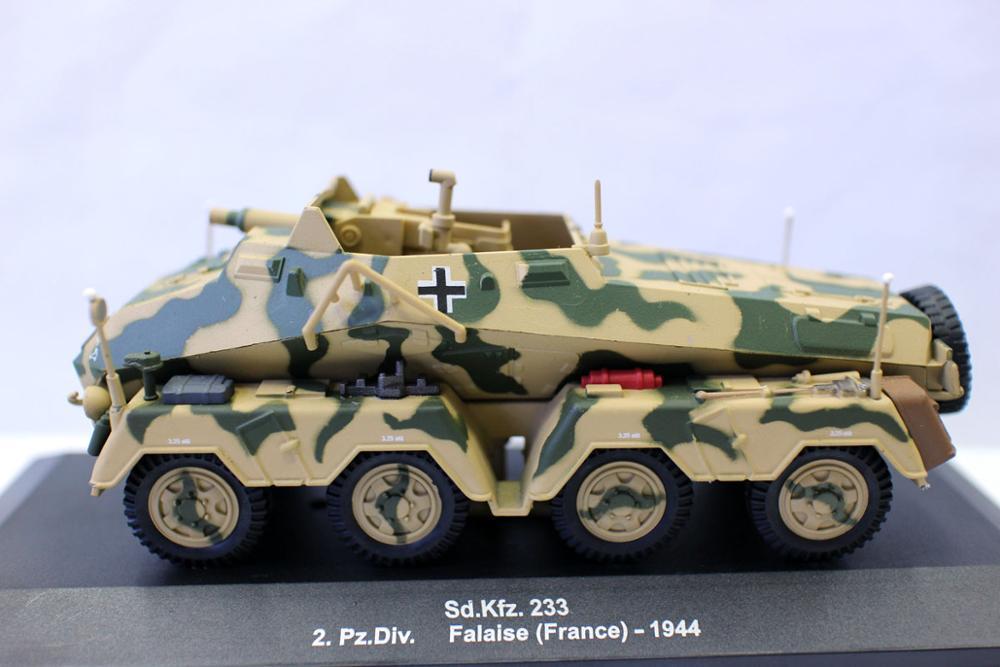 Alyak-báscula Sd. kfz, nueva, 1/43 ¿233 2.Pz. Div? Falaise-tanque de Francia 1944,...