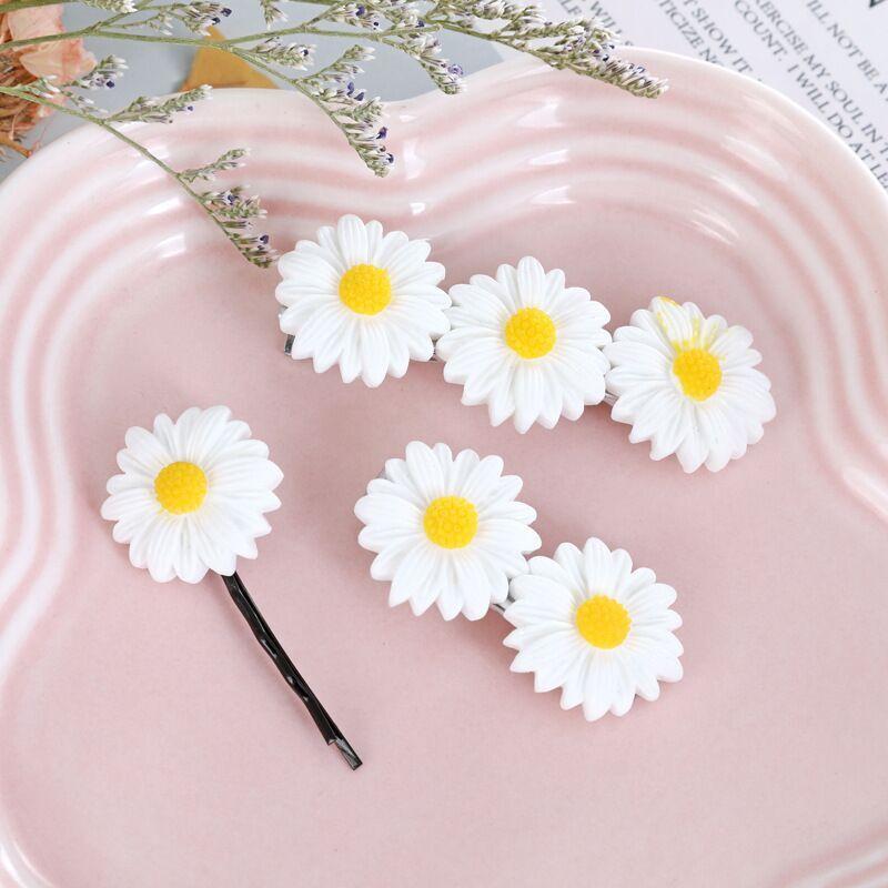 2020 explosión modelo pequeño Zou Ju Clip de pelo pequeño producto fresco flor Clip Sweet Holiday Hair Ring