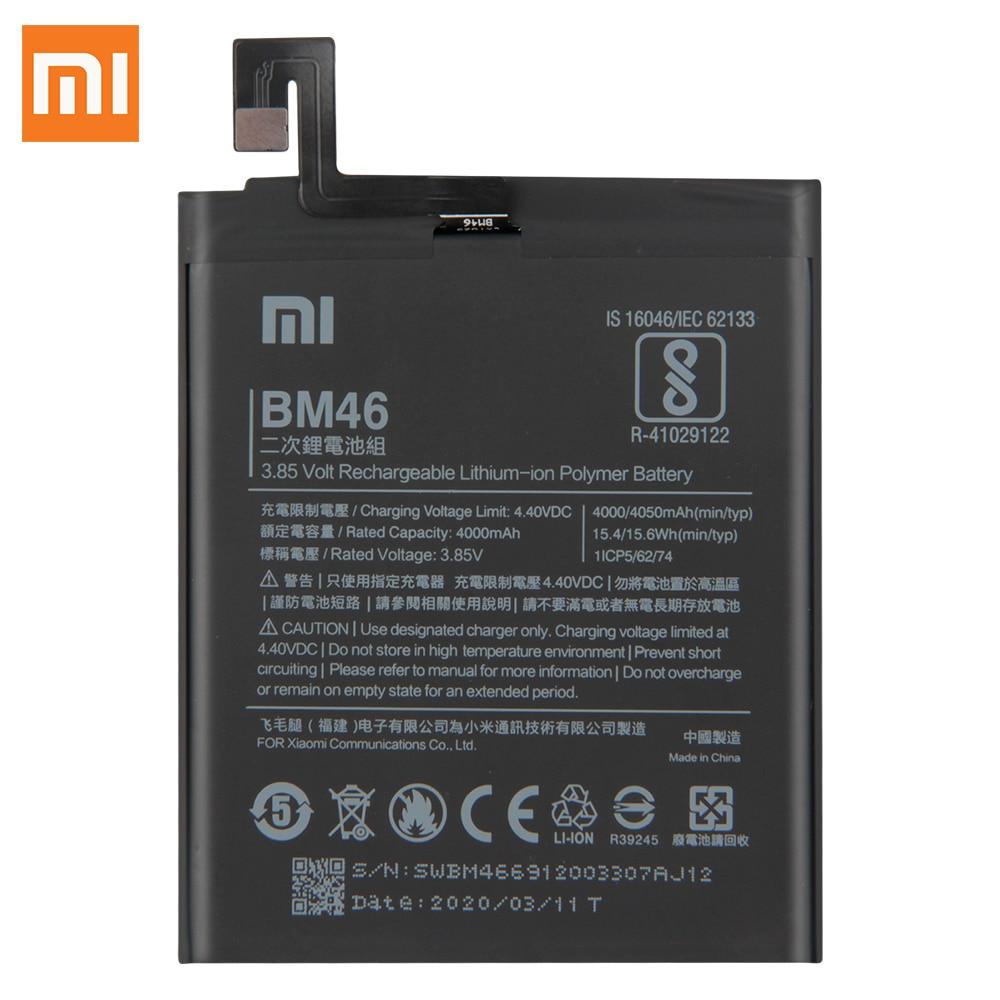 Original Replacement Battery For Xiaomi Redmi Note 3 Hongmi Note3 Pro Redrice Note 3 BM46 4050mAh недорого