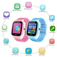 w16 children smart watch sos phone watch smartwatch for kids with sim card anti lost child sos position tracker kids watch